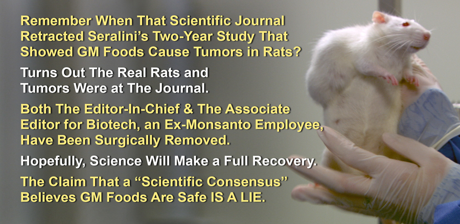 Seralini rat Study Wrongfully Retracted